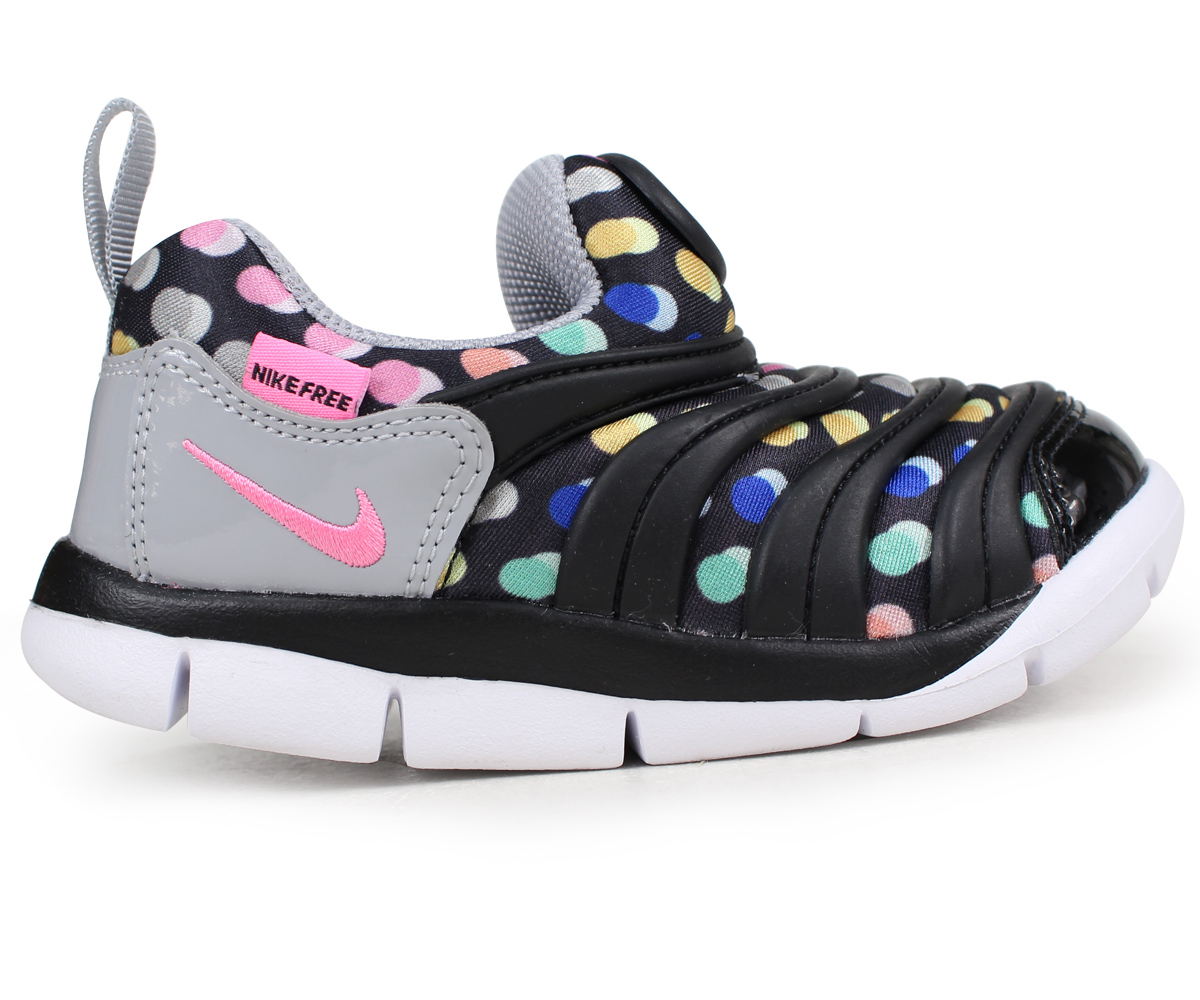 sneak online shop nike nike dynamo free baby sneakers dynamo free print td 834 366 003 black. Black Bedroom Furniture Sets. Home Design Ideas