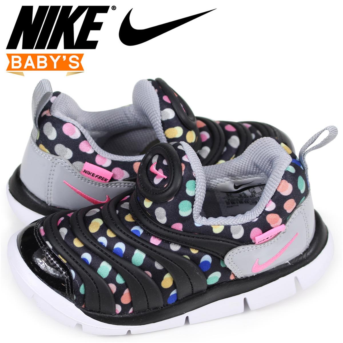 sneak online shop nike nike dynamo free baby sneakers dynamo free print td 834 366 003 black. Black Bedroom Furniture Sets. Home Design Ideas