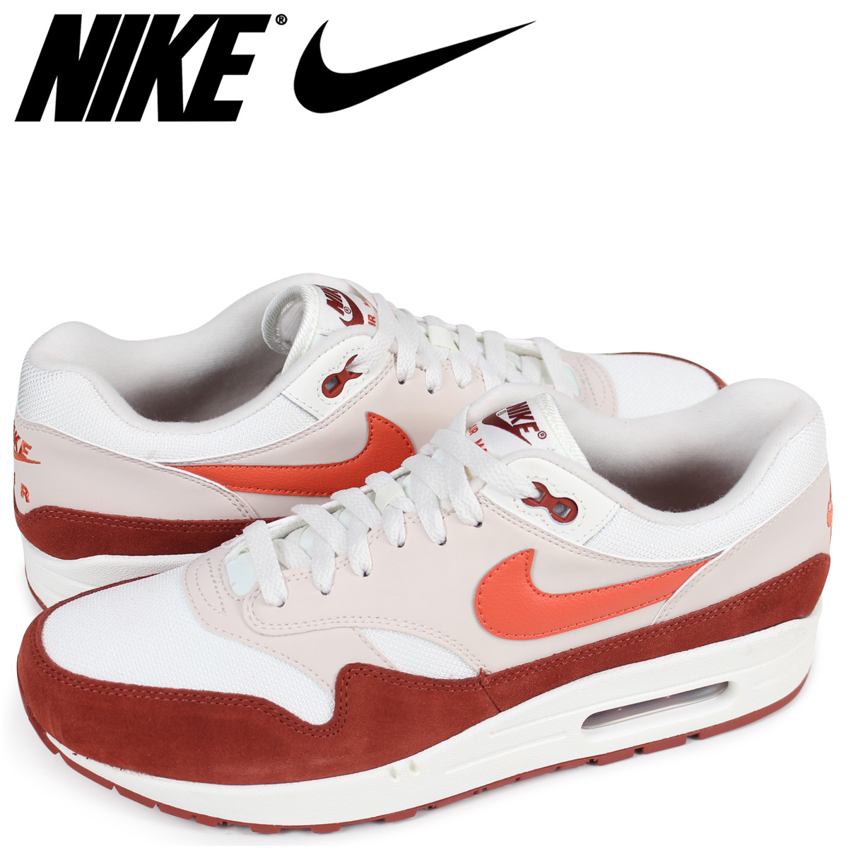 Nike NIKE Air Max 1 sneakers men AIR MAX 1 AH8145 104 off white
