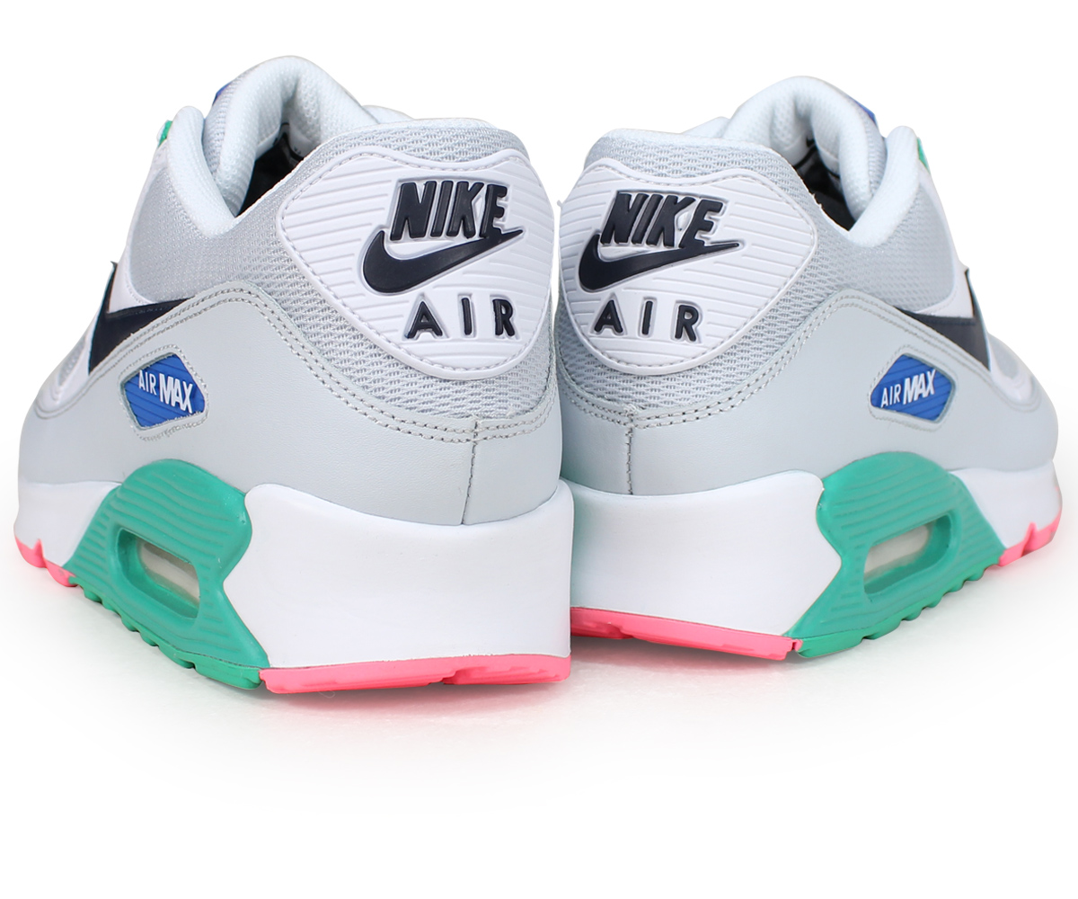 official store picked up classic Nike NIKE Air Max 90 essential sneakers men AIR MAX 90 ESSENTIAL AJ1285-100  white