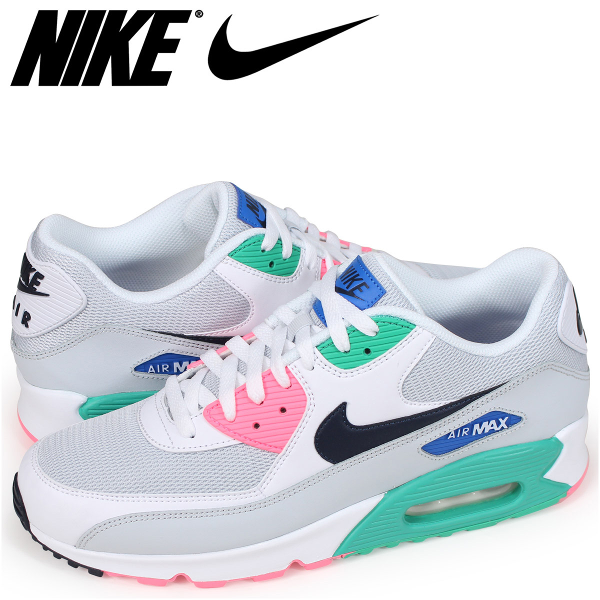 finest selection 218dd f15bd Nike NIKE Air Max 90 essential sneakers men AIR MAX 90 ESSENTIAL AJ1285-100  white