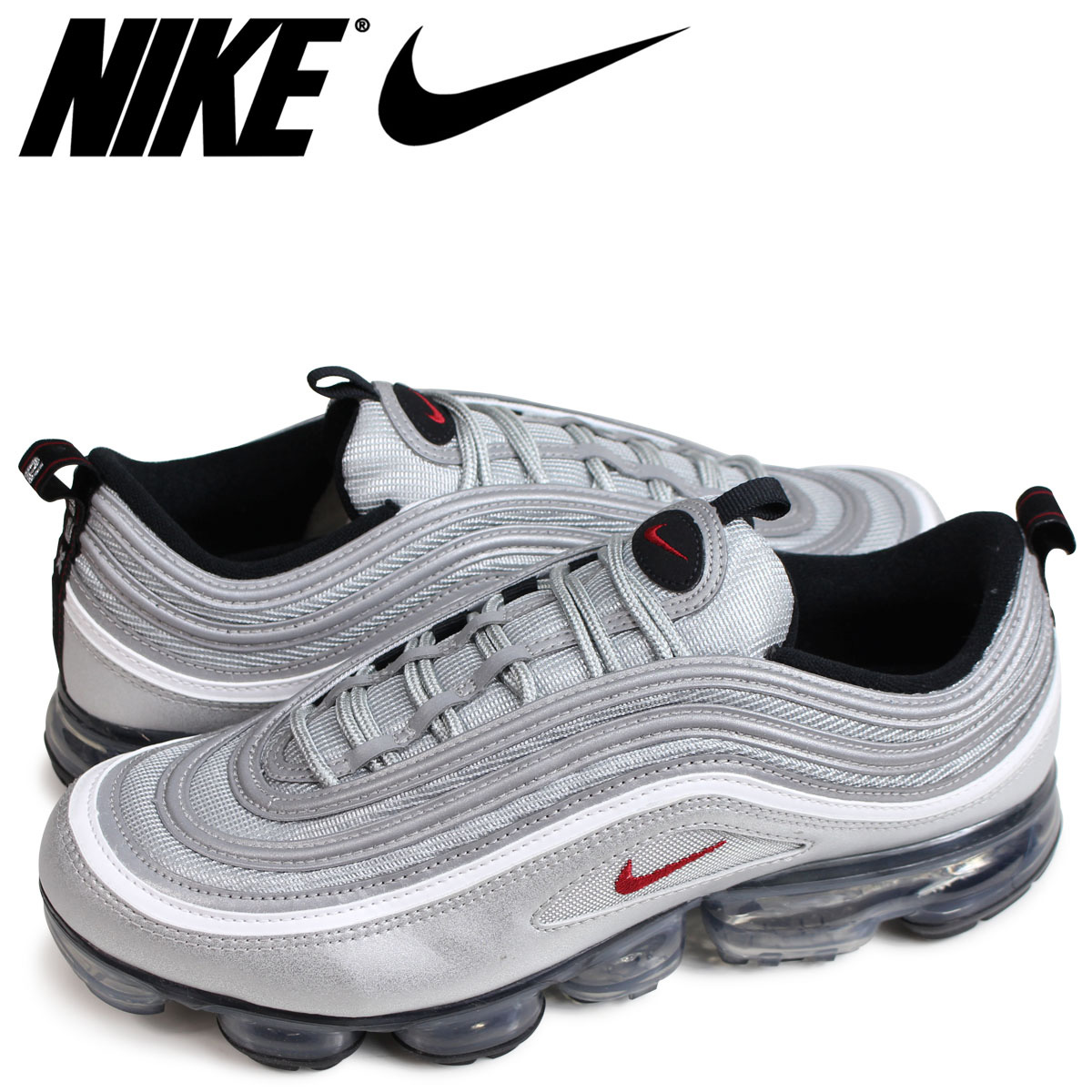 finest selection 4547b cc870 NIKE AIR VAPORMAX 97 Nike air vapor max 97 sneakers men silver AJ7291-002