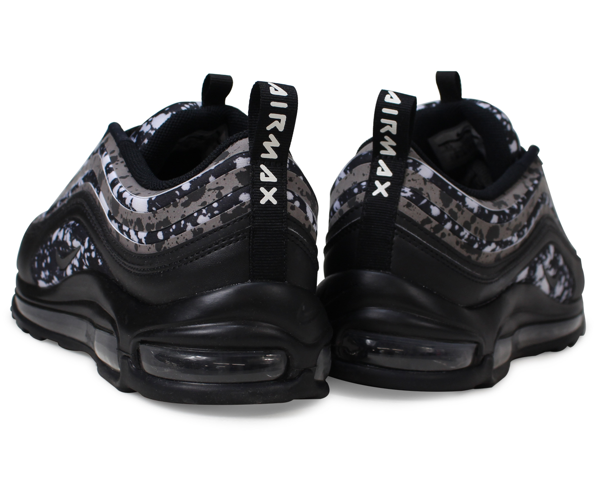 5f207af6b092 Nike NIKE Air Max 95 lady s men s sneakers WMNS AIR MAX 97 ULTRA 17 PREMIUM  AO2325-002 black  4 17 Shinnyu load