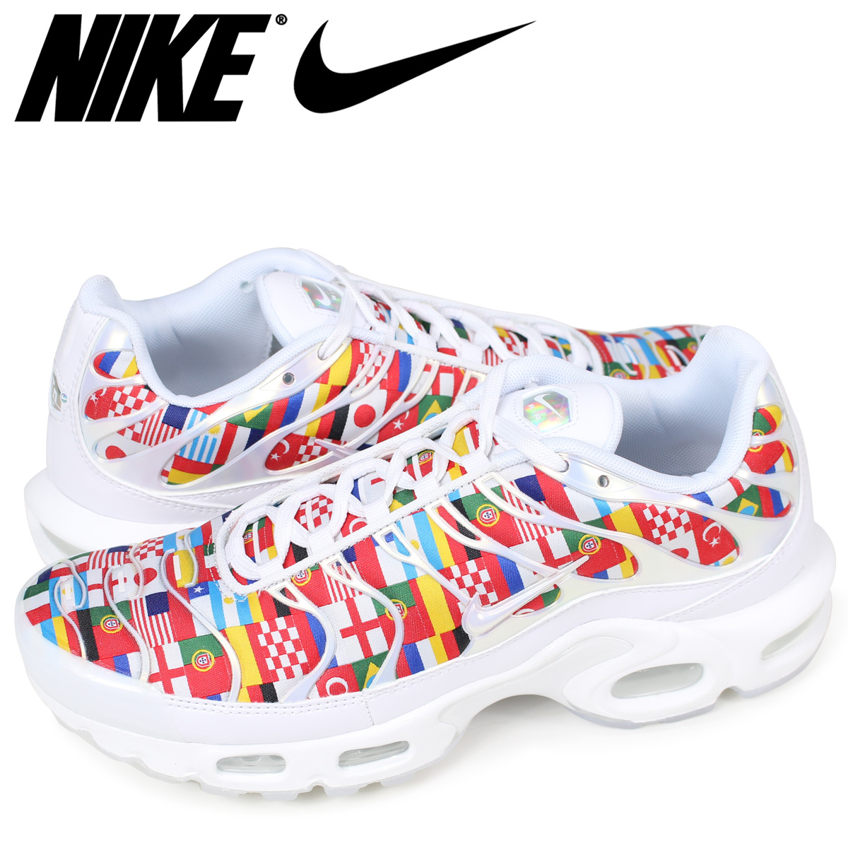 abcf7f75e426d6 Nike NIKE Air Max plus sneakers men AIR MAX PLUS NIC QS AO5117-100 white   load planned Shinnyu load in reservation product 6 16 containing