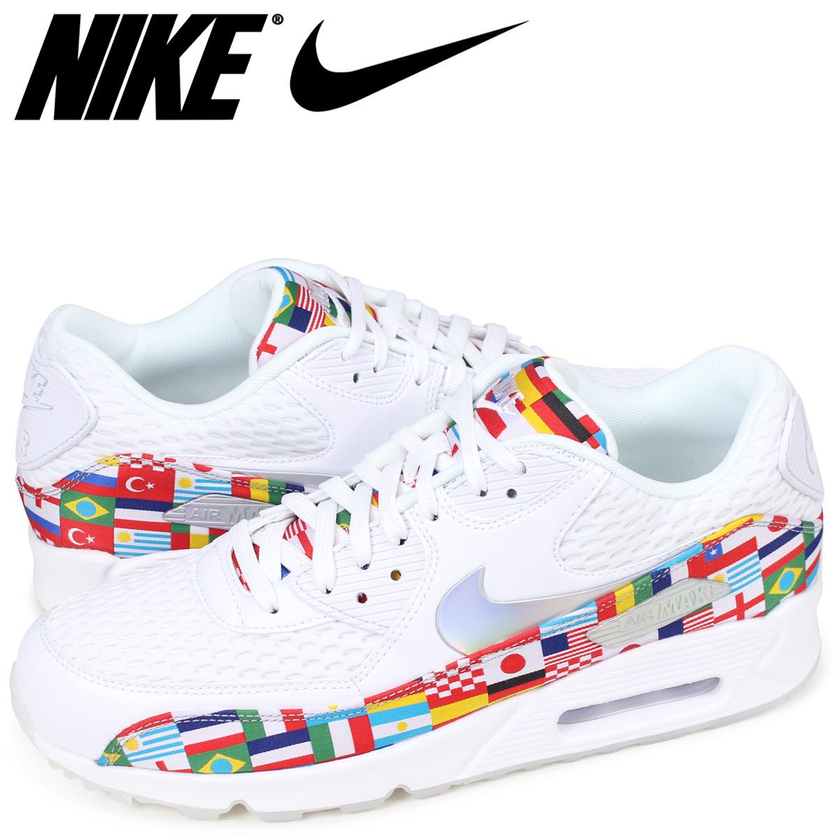 pretty nice 5aa3f a400c NIKE AIR MAX 90 NIC QS Kie Ney AMAX 90 sneakers men white AO5119-100