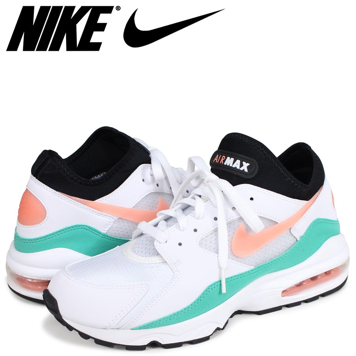 b2757e517c Nike NIKE Air Max 93 sneakers men AIR MAX 93 WATERMELON 306,551-105 white  ...