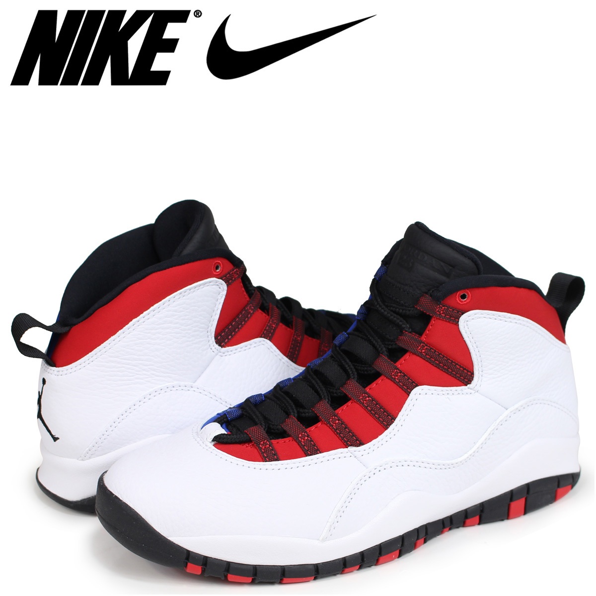 e575ebb63f4e26 NIKE AIR JORDAN 10 RETRO RUSSELL WESTBROOK Nike Air Jordan 10 sneakers  nostalgic men white 310