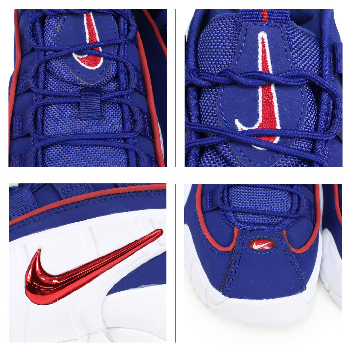 037c831470 ... Nike NIKE Air Max penny Lady's sneakers AIR MAX PENNY LE GS 315,519-400  blue ...