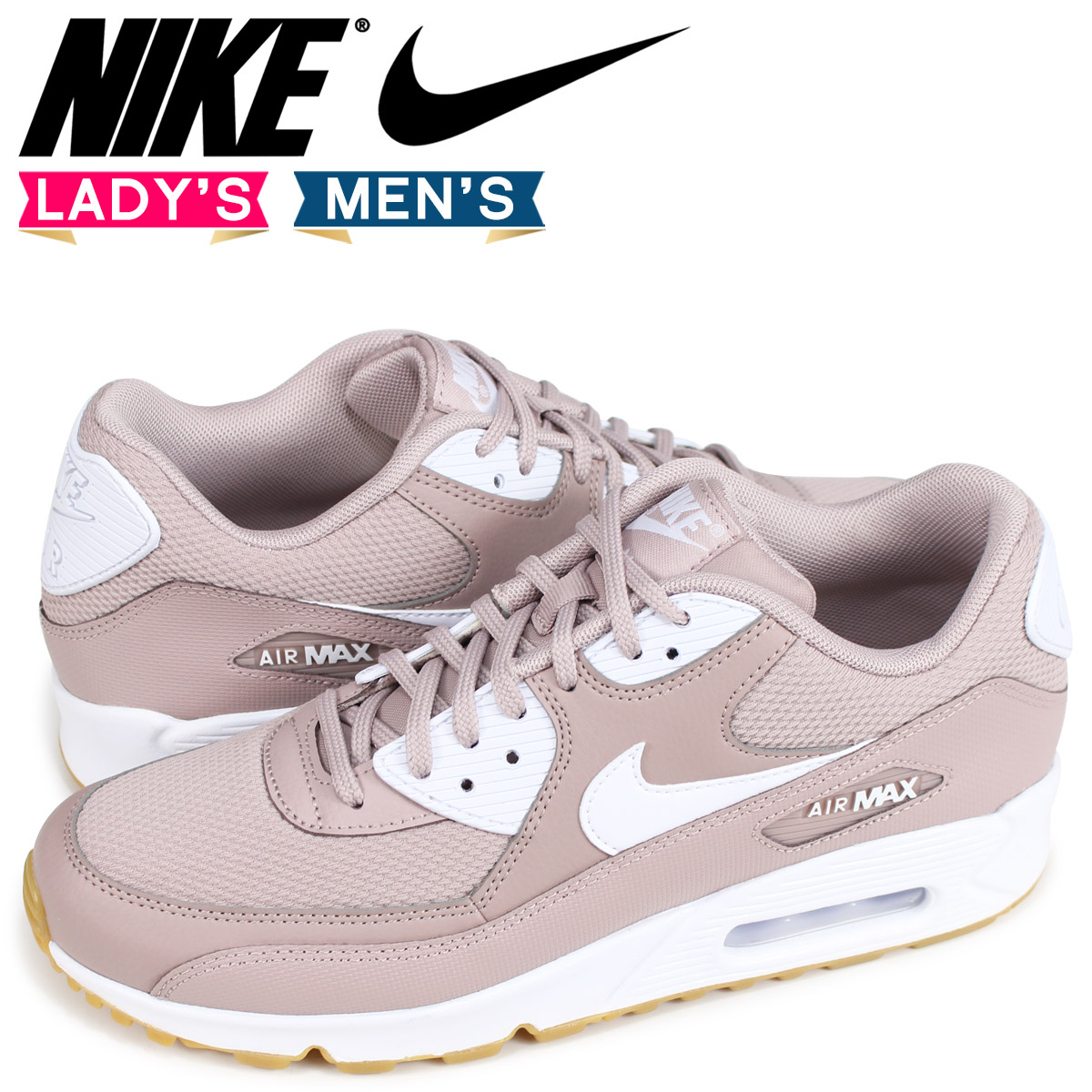 new styles e5bcc 3e904 Nike NIKE Air Max 90 lady s men s sneakers WMNS AIR MAX 90 325,213-210  purple ...