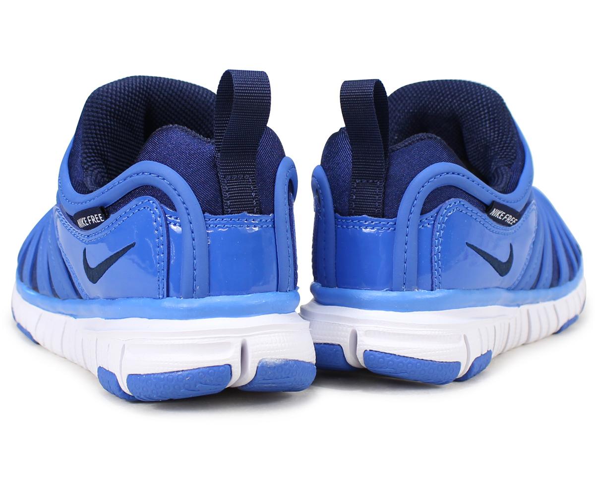 sneak online shop nike nike dynamo free kids sneakers dynamo free ps 343 738 426 blue load. Black Bedroom Furniture Sets. Home Design Ideas
