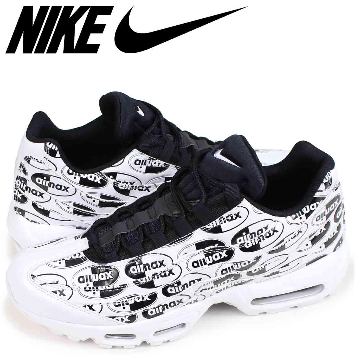 Mens Shoes Nike Air Max 95 Premium White Black 538416 103 538416 103