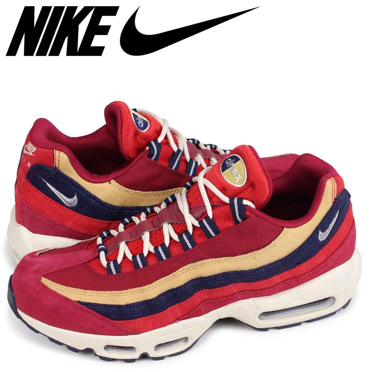Nike NIKE Air Max 95 sneakers men AIR MAX 95 PREMIUM 538,416 603 red