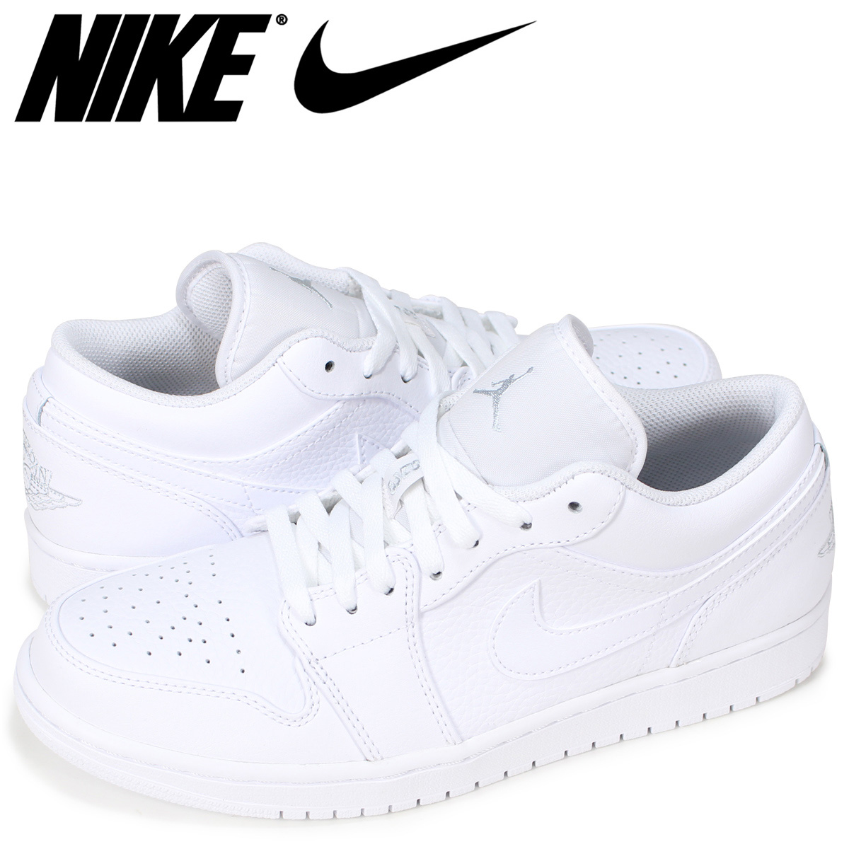 separation shoes 14439 4eaa5 NIKE AIR JORDAN 1 LOW Nike Air Jordan 1 sneakers men white 553,558-109
