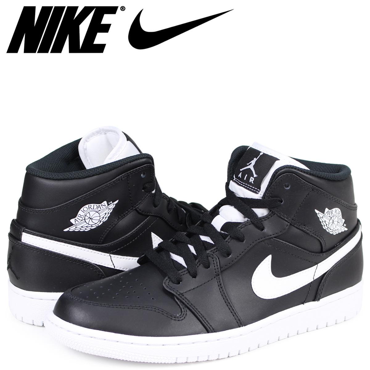 the latest a1726 bb2c1 NIKE AIR JORDAN 1 MID Nike Air Jordan 1 sneakers men black 554,724-038