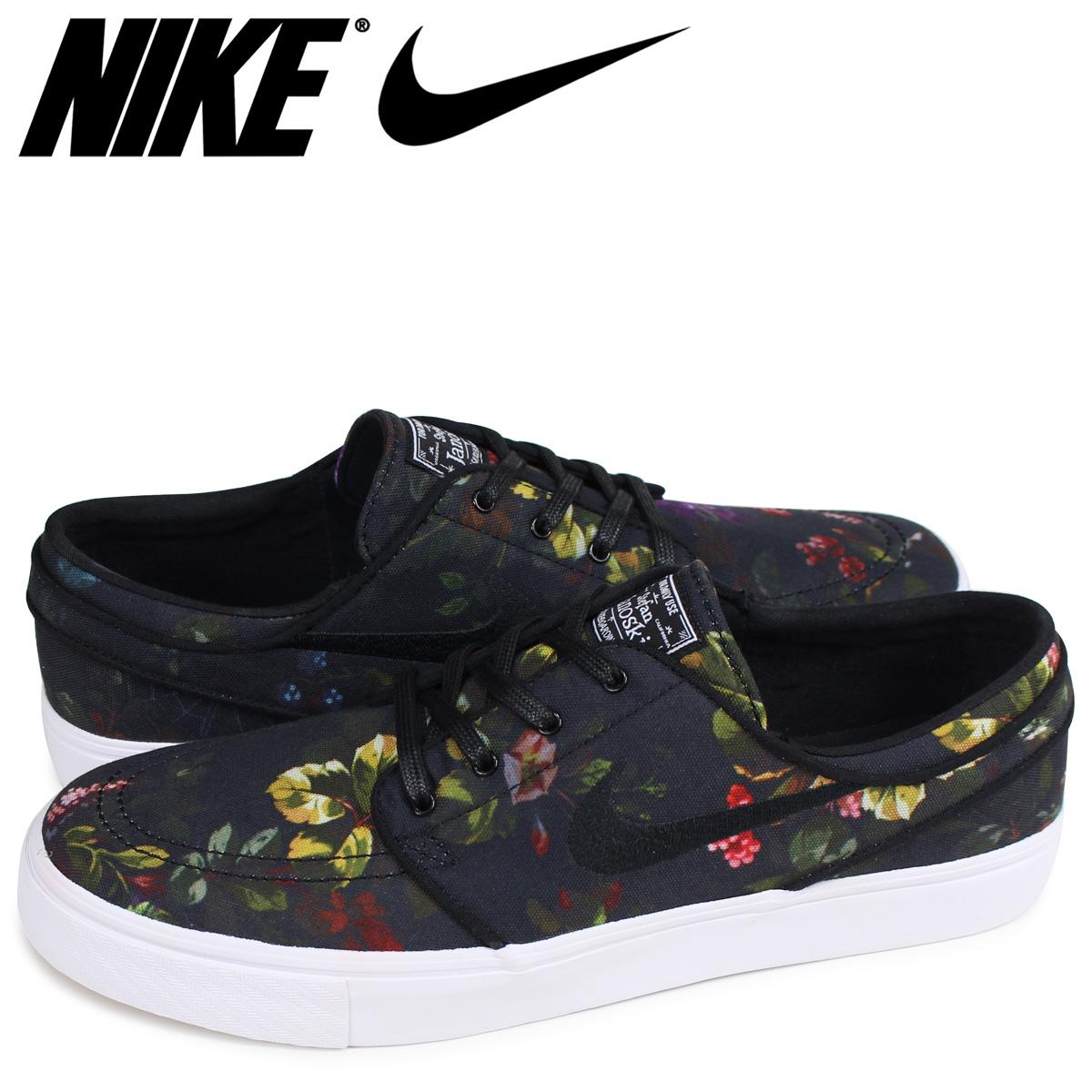 Nike Zoom Stefan Janoski Canvas Floral Color Multi Black White 615957 900