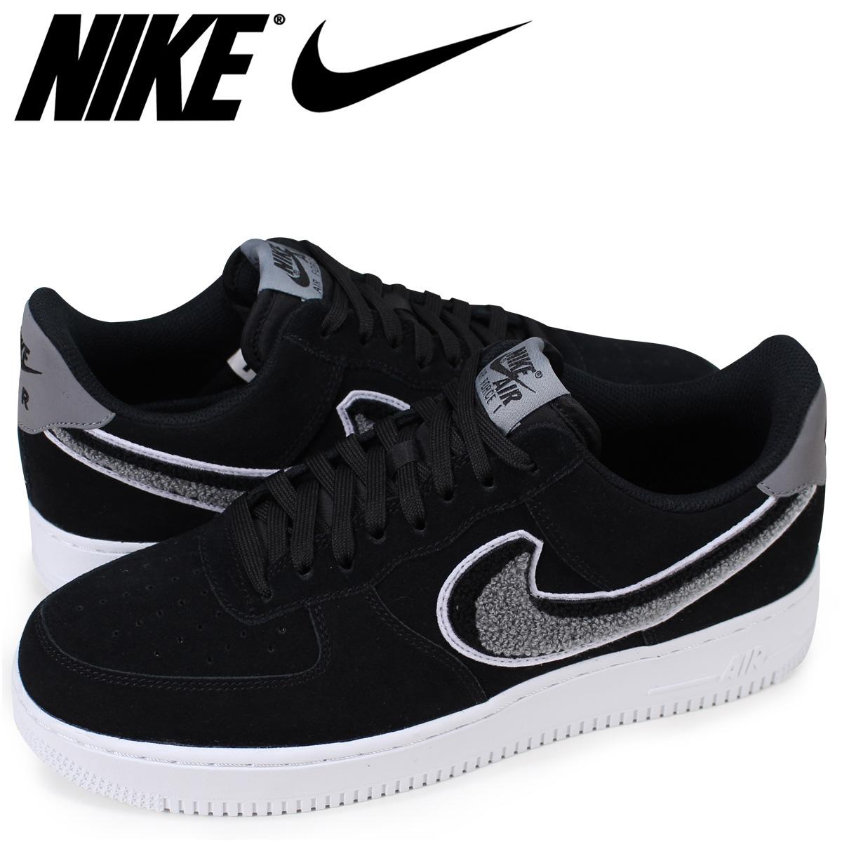 classic fit d6bdb 71674 NIKE AIR FORCE 1 07 LV8 Nike air force 1 sneakers men black 823,511-014