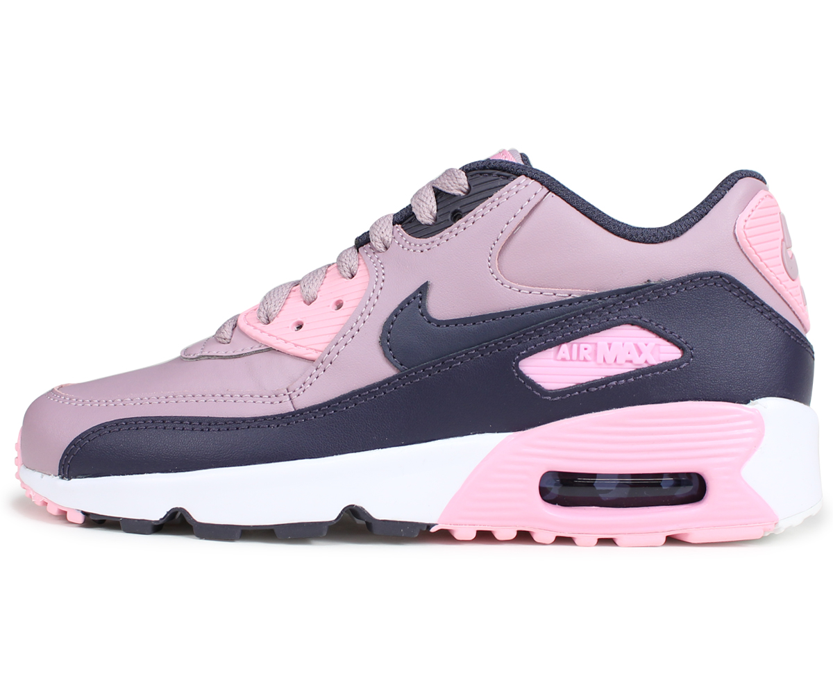 Nike NIKE Air Max 90 Lady's sneakers AIR MAX 90 LEATHER GS 833,376 602 pink