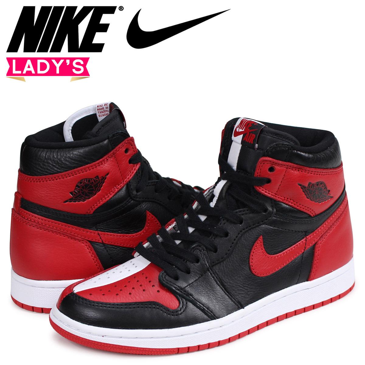546d666009ffcb NIKE AIR JORDAN 1 RETRO HIGH OG HOMAGE TO HOME Nike Air Jordan 1 sneakers  lady s nostalgic high red 861