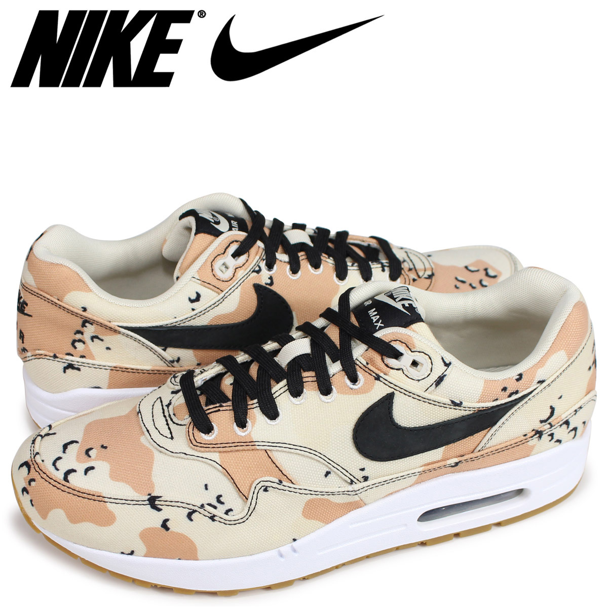 d20b07528c Nike NIKE Air Max 1 sneakers men AIR MAX 1 PREMIUM BEACH CAMO 875,844-204  ...
