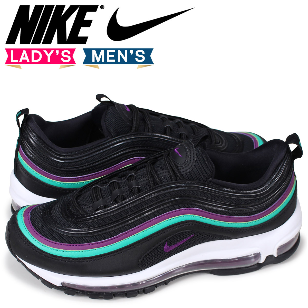 SneaK Online Shop  Nike NIKE Air Max 97 lady s men s sneakers WMNS ... 37655392204c