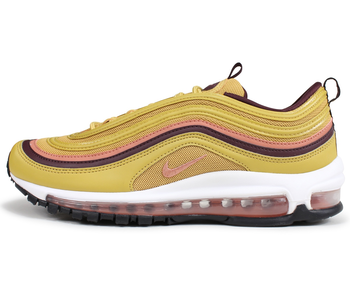 Nike NIKE Air Max 97 lady's men's sneakers WMNS AIR MAX 97 921,733 700 gold