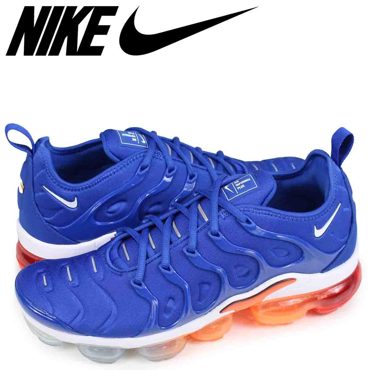 los angeles 43a51 444e9 NIKE AIR VAPORMAX PLUS Nike air vapor max plus sneakers men blue 924,453-403