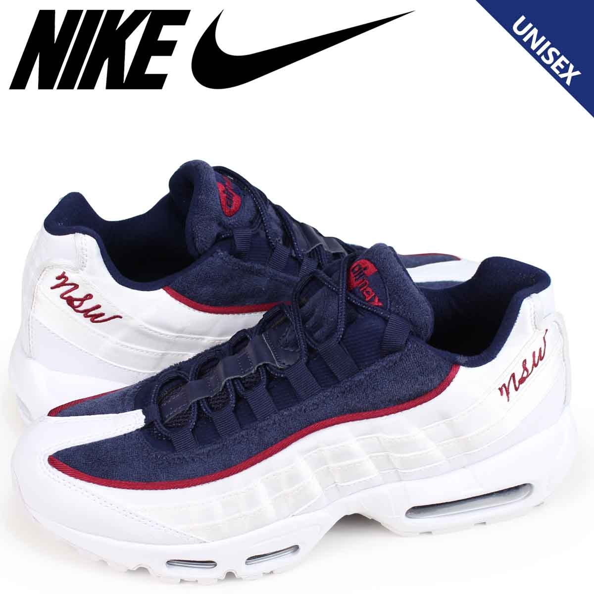 new concept bcb5d 06318 Nike NIKE Air Max 95 sneakers Lady's men WMNS AIR MAX 95 LX AA1103-100 white