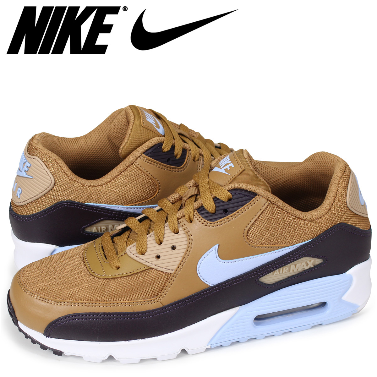 NIKE AIR MAX 90 ESSENTIAL Kie Ney AMAX 90 essential sneakers men AJ1285 202 brown