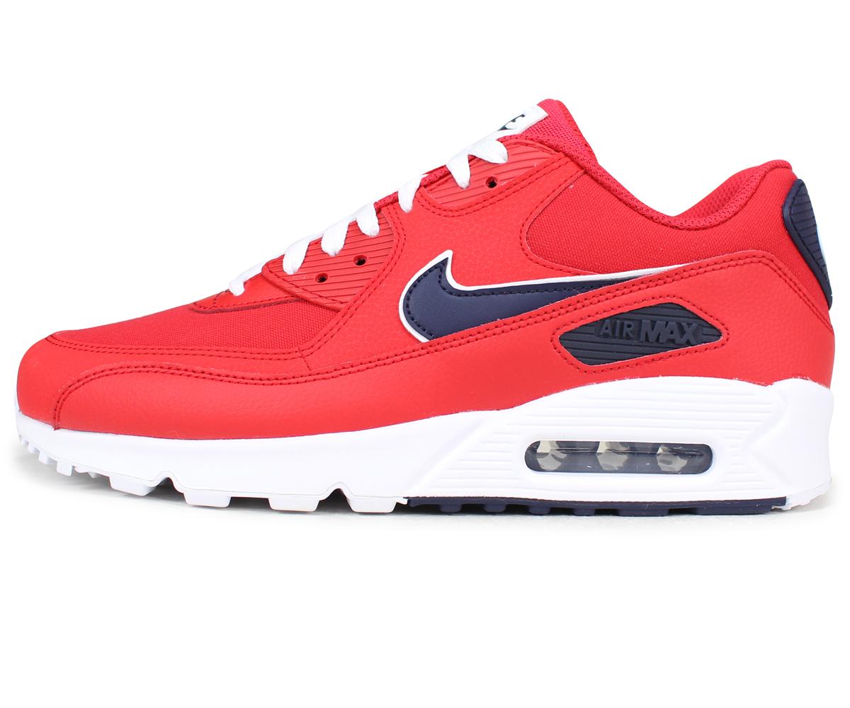 premium selection d663e 12d72 Nike NIKE Air Max 90 essential sneakers men gap Dis AIR MAX 90 ESSENTIAL  AJ1285-601 red