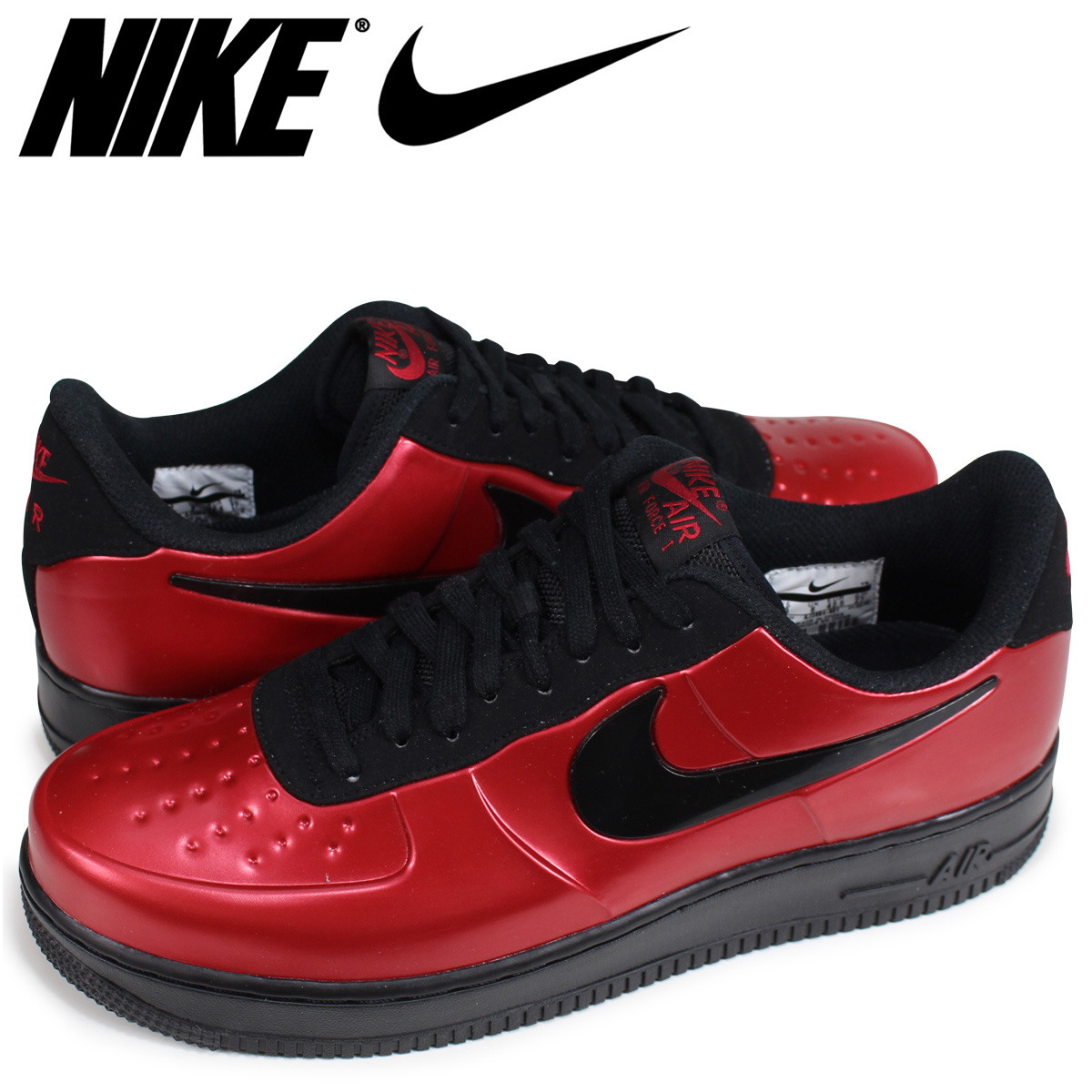 official photos 88499 03cfb NIKE AIR FORCE 1 FOAMPOSITE PRO CUP Nike air force 1 sneakers men red AF1  AJ3664-601