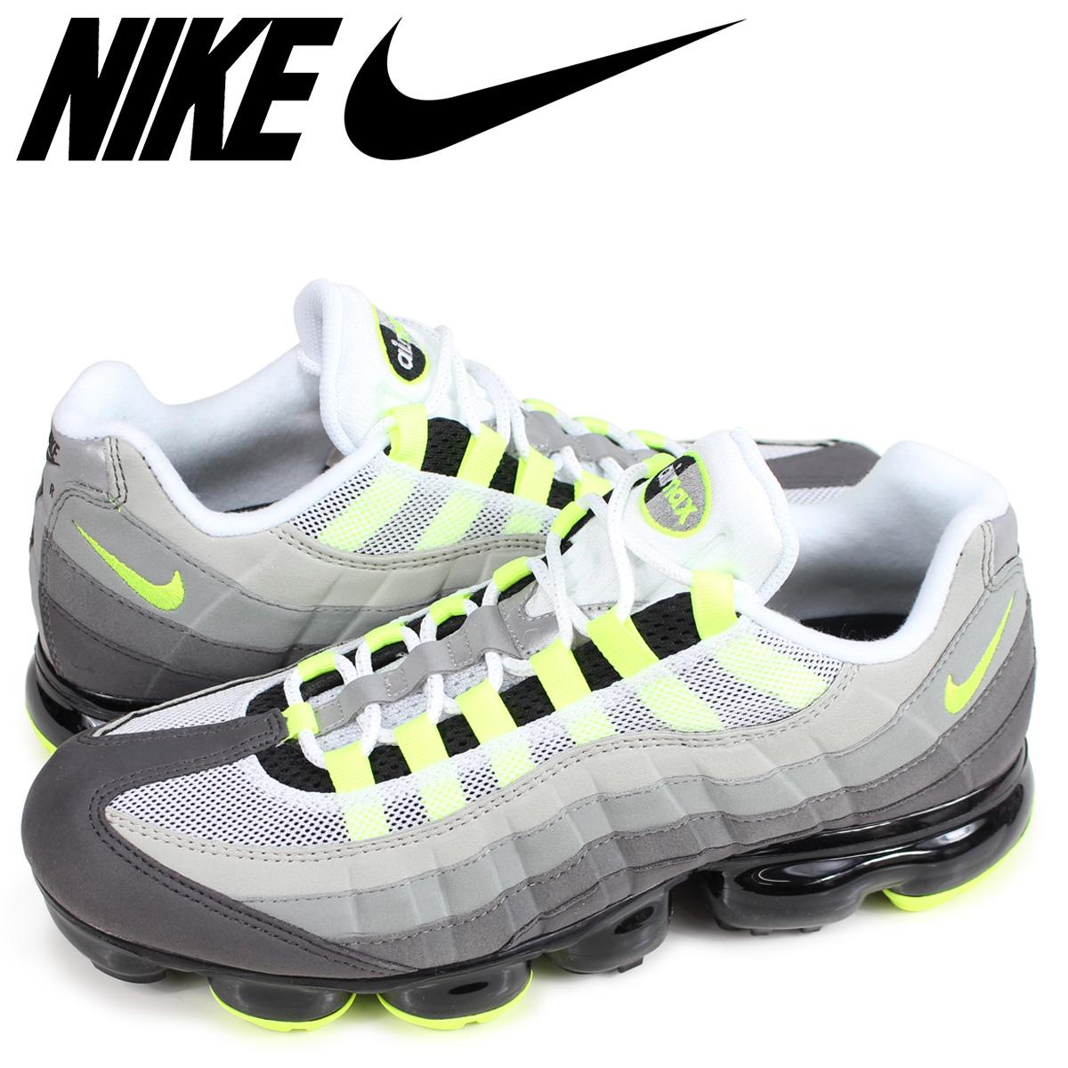 buy popular a6923 f74c1 NIKE AIR VAPORMAX 95 NEON Nike air vapor max 95 sneakers men neon yellow  AJ7292-001 [the 9/6 additional arrival]