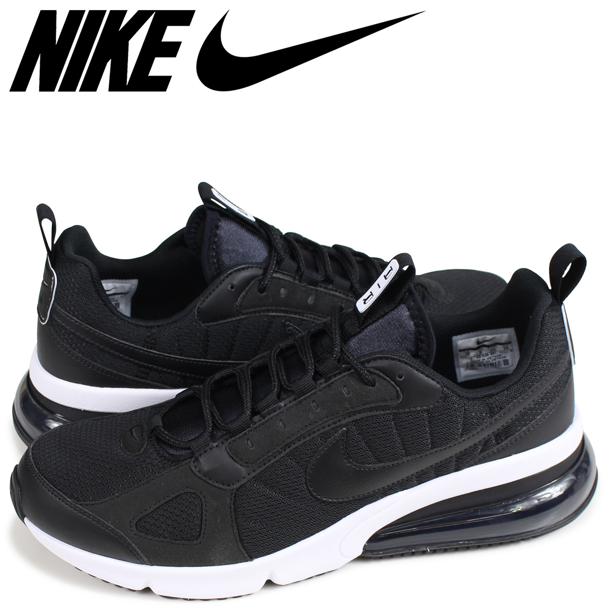 79667288 NIKE AIR MAX 270 FUTURE Kie Ney AMAX 270 sneakers men black AO1569-001 ...