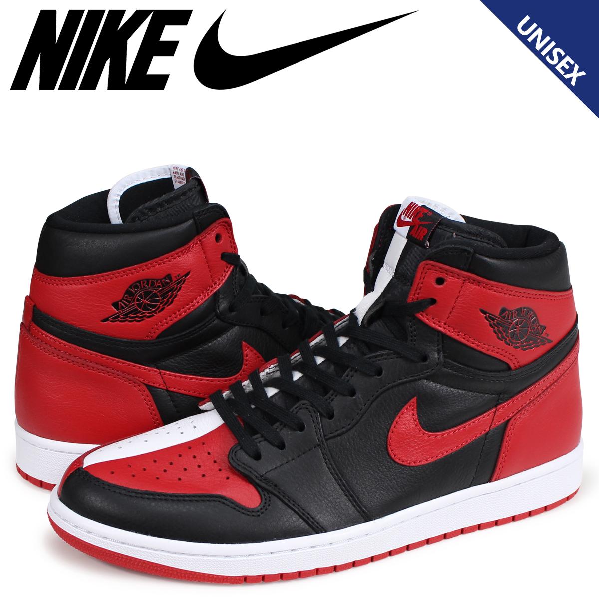 cheap for discount 5f5c0 b60ad NIKE AIR JORDAN 1 RETRO HIGH OG HOMAGE TO HOME Nike Air Jordan 1 sneakers  nostalgic high men gap Dis red 861,428-061