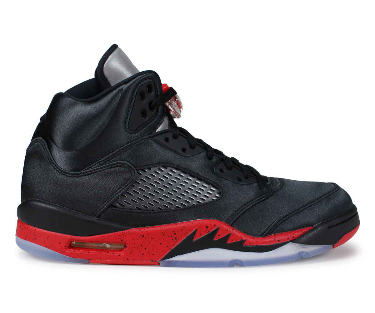 NIKE AIR JORDAN 5 RETRO Nike Air Jordan 5 nostalgic sneakers men black 136,027 006