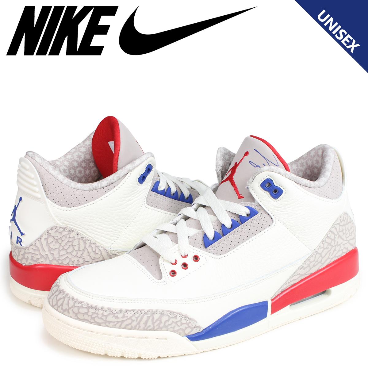 209be48e1eb1ee NIKE AIR JORDAN 3 RETRO Nike Air Jordan 3 sneakers nostalgic men white  36