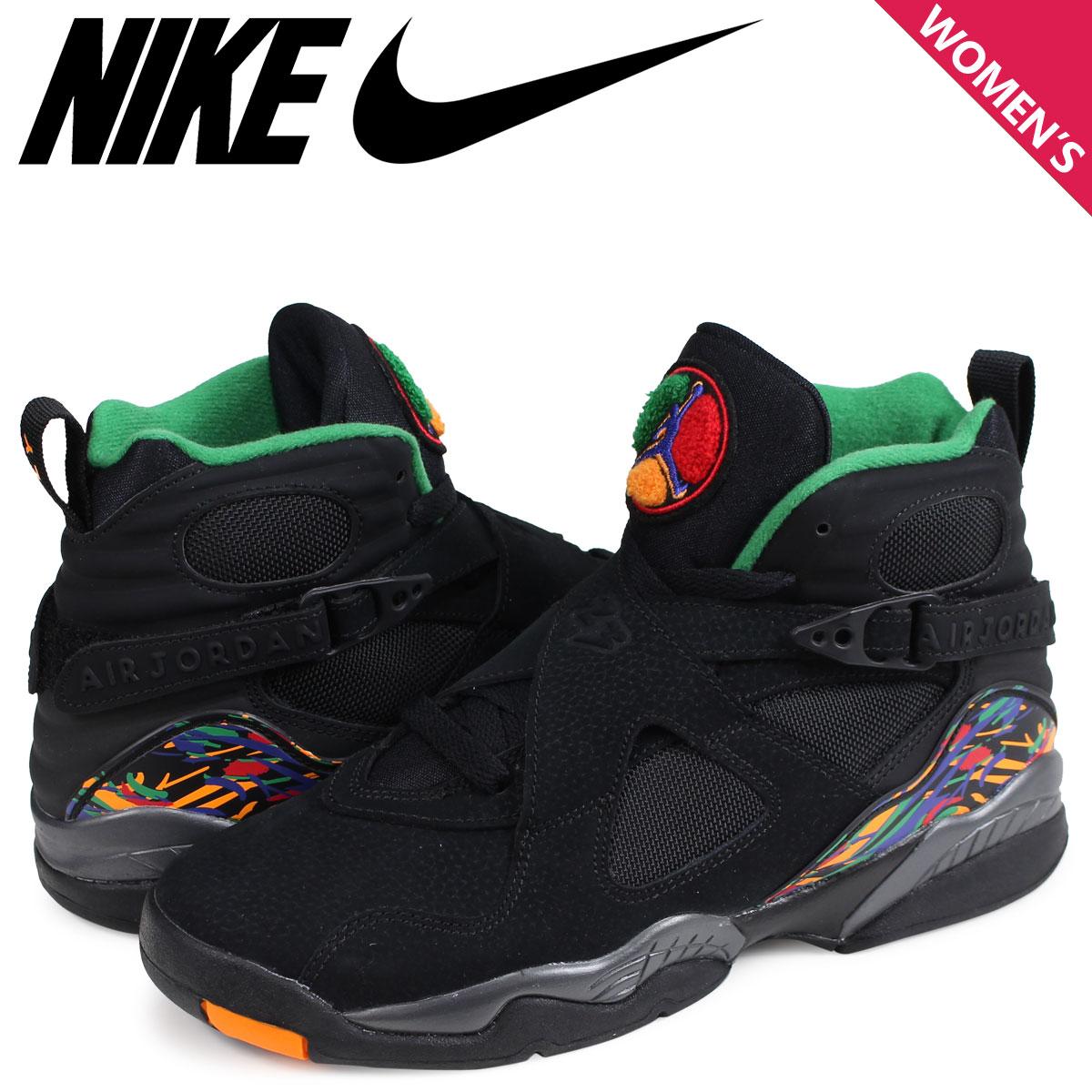 845cd6f6ef6 NIKE AIR JORDAN 8 RETRO GS Nike Air Jordan 8 nostalgic sneakers Lady's  305,368-004 ...