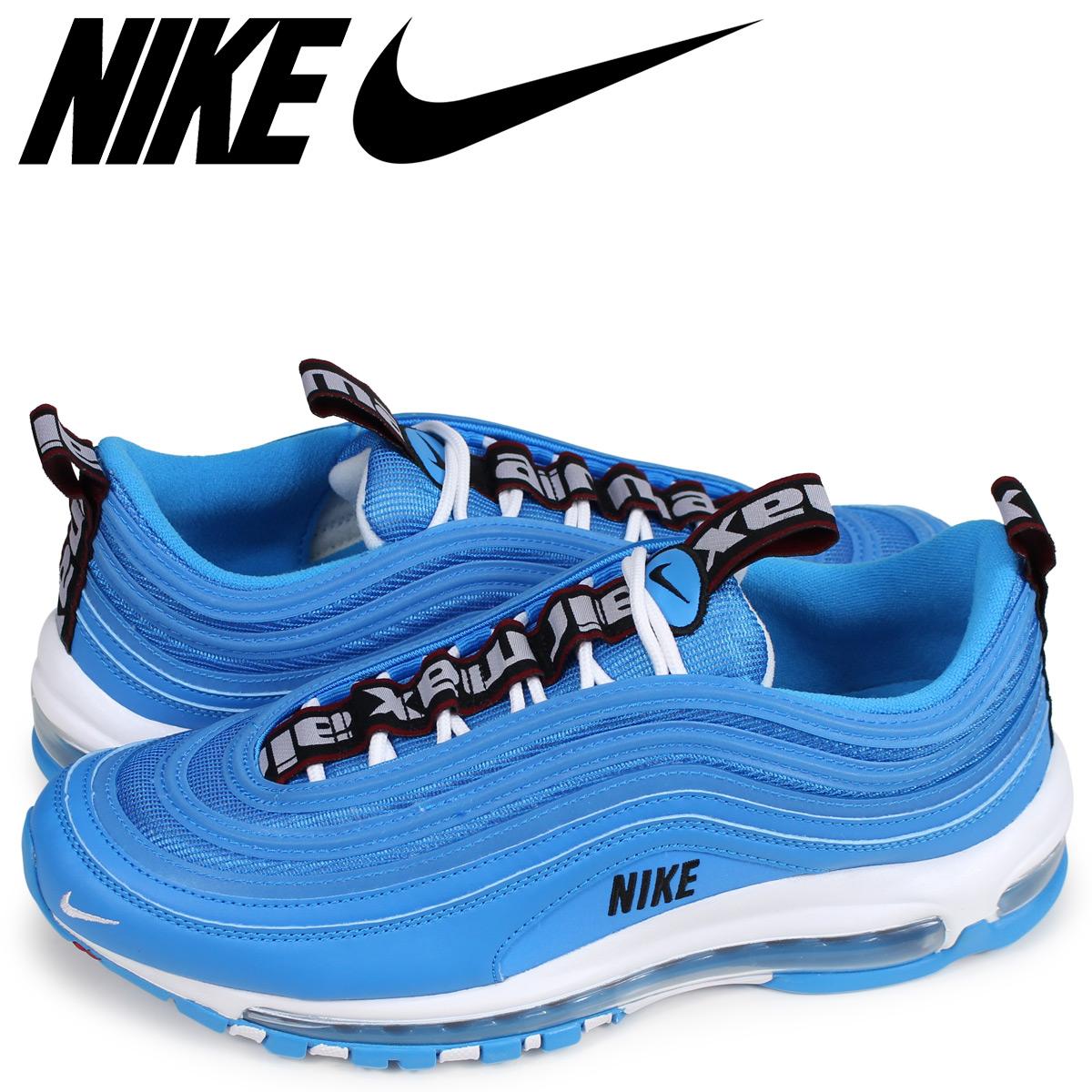 NIKE Kie Ney AMAX 97 sneakers men AIR MAX 97 PREMIUM blue 312,834 401