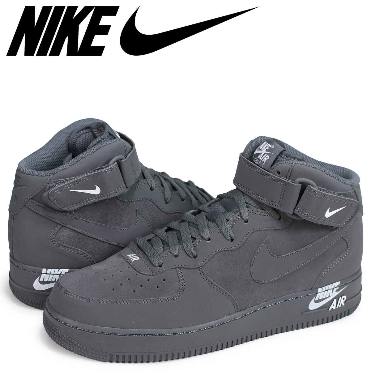 online retailer 0e74c 0df0f NIKE AIR FORCE 1 MID 07 Nike air force 1 sneakers men dark gray 315,123-048