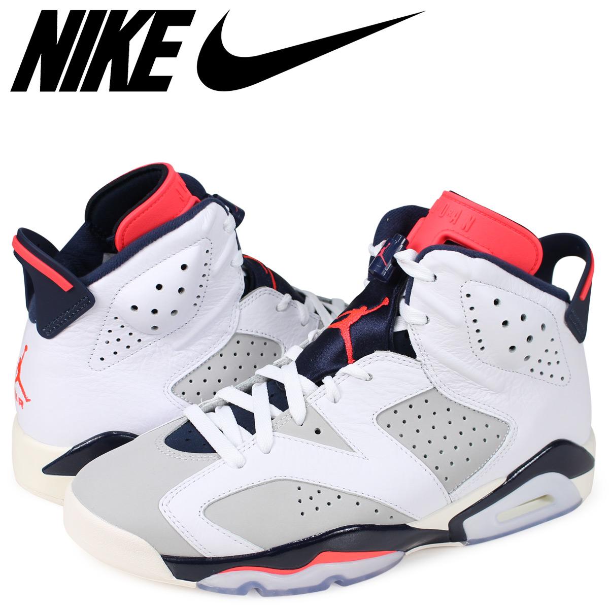 detailed look ea9e5 d12fe NIKE AIR JORDAN 6 RETRO TINKER Nike Air Jordan 6 nostalgic sneakers men  white 384,664-104