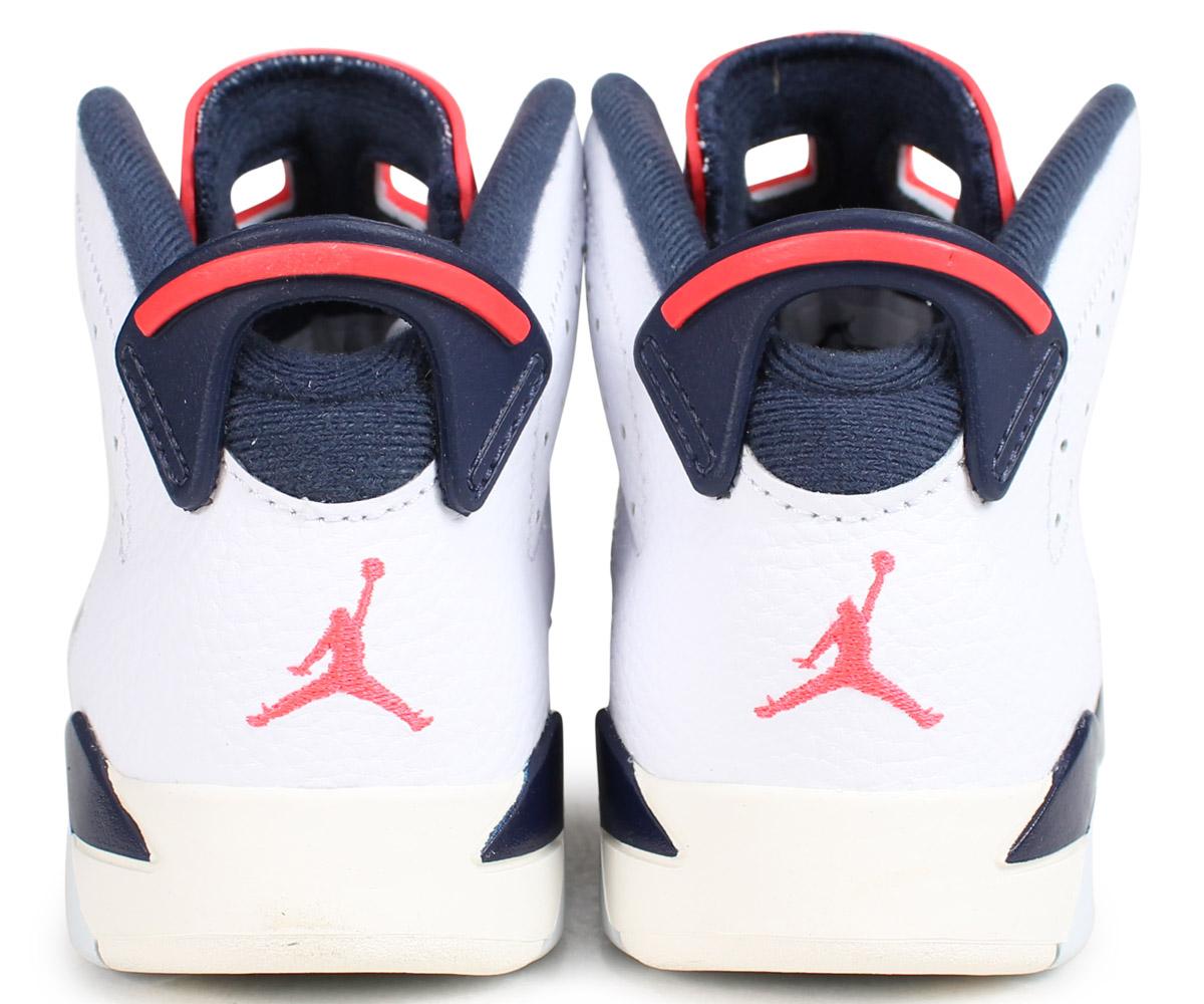 1cce98e78f0c10 ... NIKE AIR JORDAN 6 RETRO PS TINKER Nike Air Jordan 6 nostalgic sneakers  kids white 384,666 ...