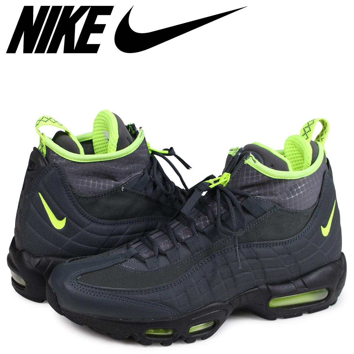 2265e7fb0460 NIKE AIR MAX 95 SNEAKERBOOT Kie Ney AMAX 95 sneakers men dark gray  806