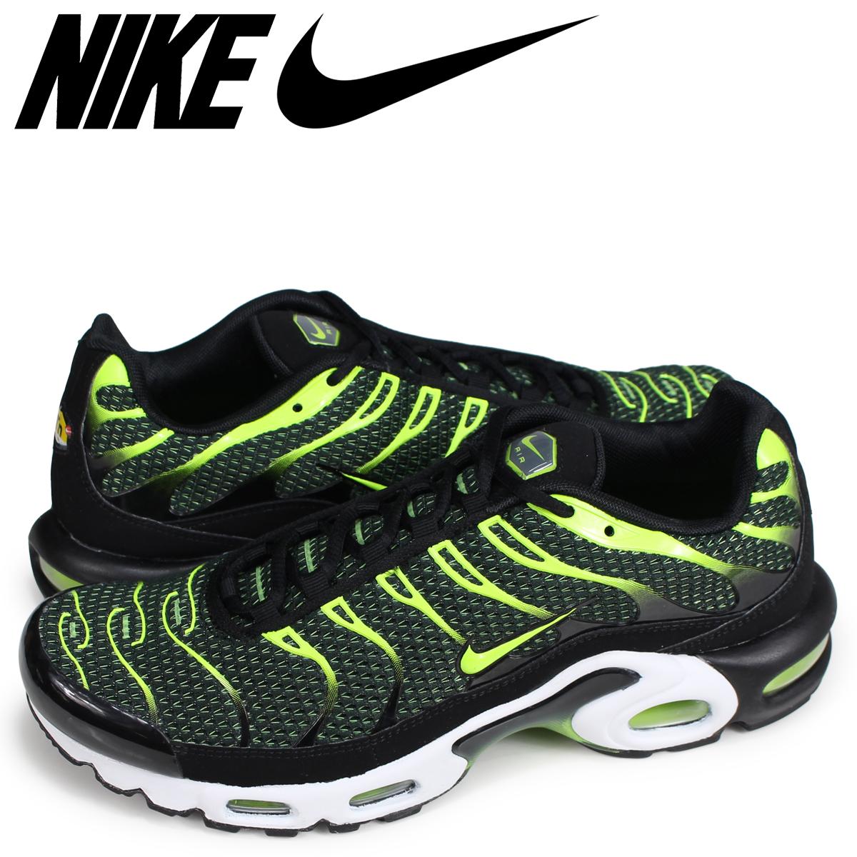 promo code f437e d8407 NIKE AIR MAX PLUS Kie Ney AMAX plus sneakers men black 852,630-036