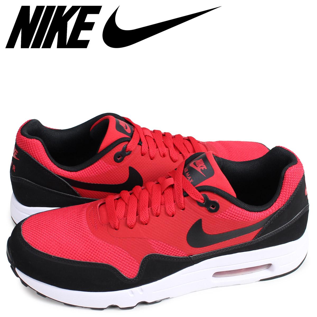 NIKE AIR MAX 1 ULTRA 2.0 ESSENTIAL Kie Ney AMAX 1 essential sneakers men red 875,679 600