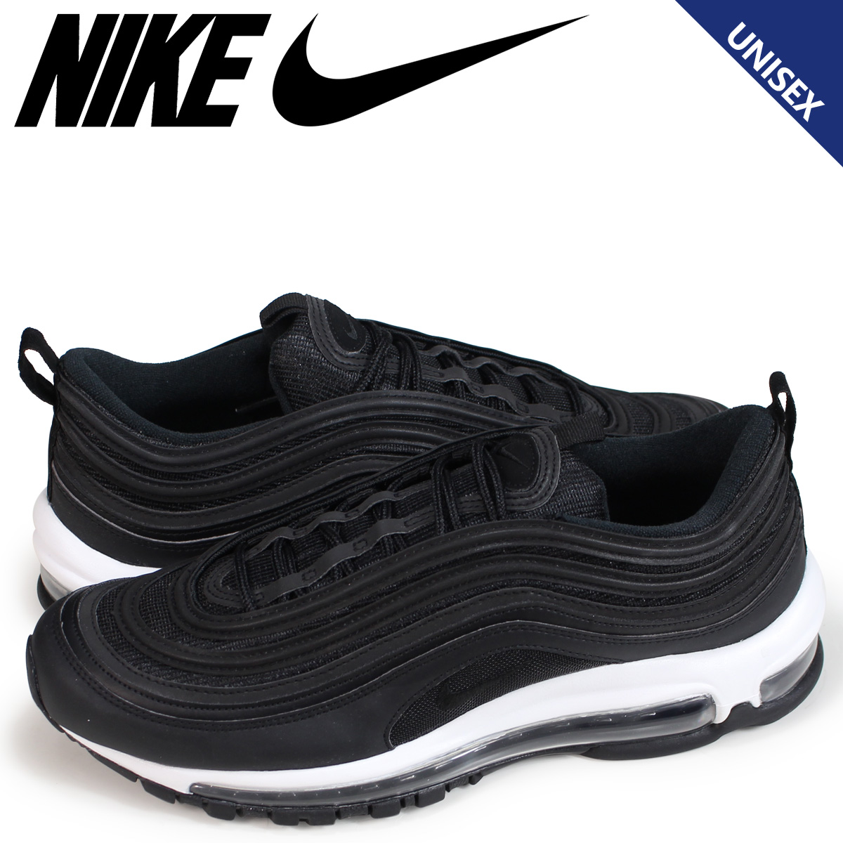 the latest ab1be 75498 Nike NIKE Air Max 97 ladys mens sneakers WMNS AIR MAX 97 921,733-006  black load planned Shinnyu load in reservation product 1015 containing
