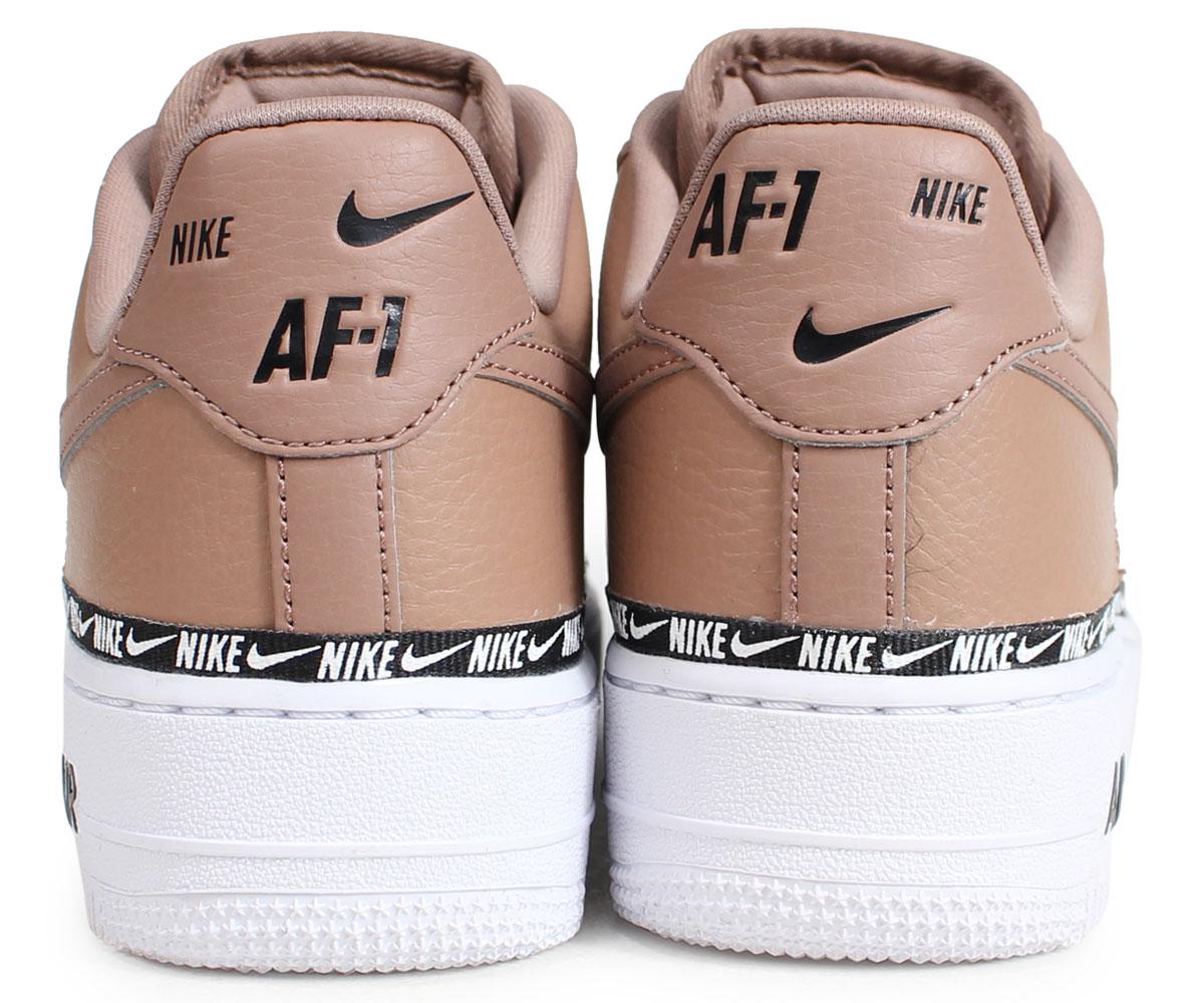 324347da67bc7 ... NIKE WMNS AIR FORCE 1 07 SE PREMIUM Nike air force 1 sneakers Lady's  men brown ...