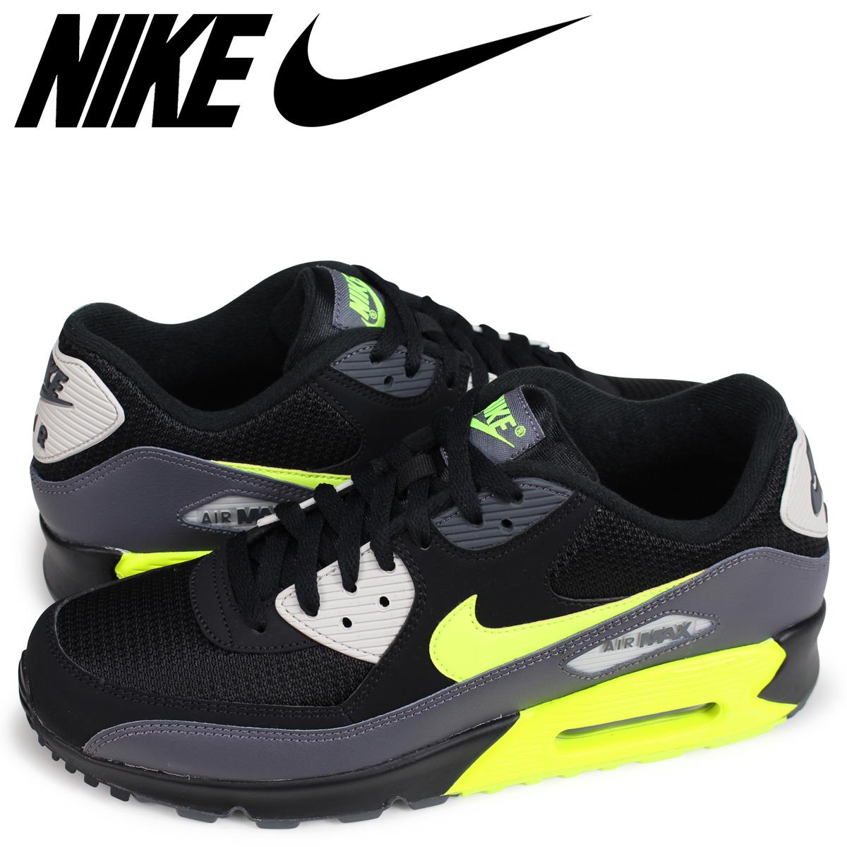competitive price c67f6 953b3 Nike NIKE Air Max 90 essential sneakers men AIR MAX 90 ESSENTIAL AJ1285-015  black ...