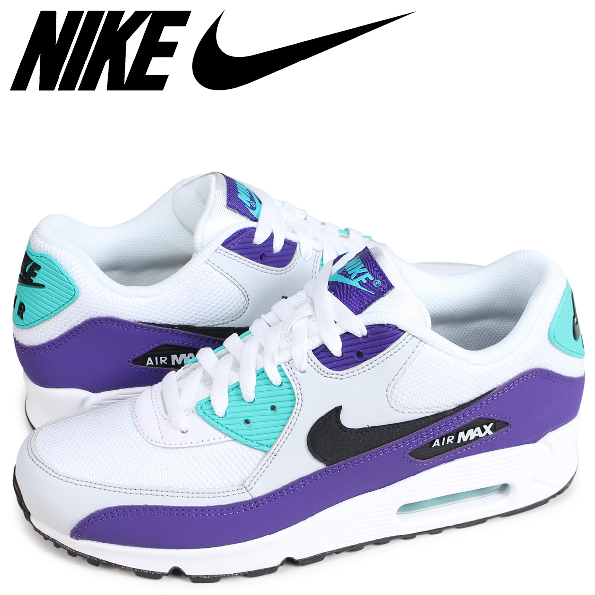best sneakers 12880 e1ef7 NIKE AIR MAX 90 ESSENTIAL Kie Ney AMAX 90 essential sneakers men white  AJ1285-103