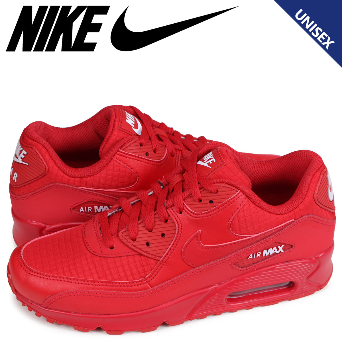 b9aae112ebdd NIKE AIR MAX 90 ESSENTIAL Kie Ney AMAX 90 essential sneakers men gap Dis  red AJ1285-602  5 15 reentry load