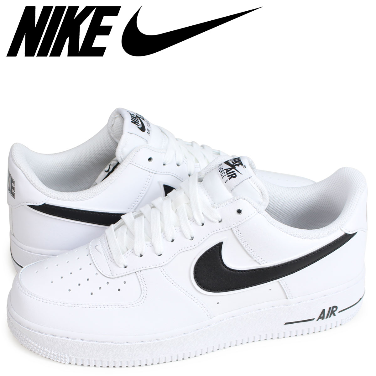 watch d35f0 121b0 NIKE AIR FORCE 1 07 3 Nike air force 1 sneakers men white AO2423-101 ...