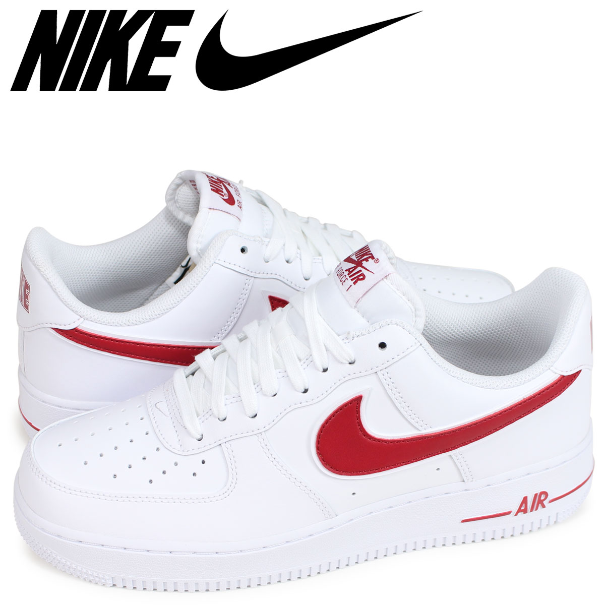 7c0a3a21ed06 NIKE AIR FORCE 1 07 3 Nike air force 1 sneakers men white AO2423-102  load  planned Shinnyu load in reservation product 2 14 containing